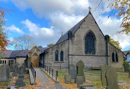 All Saints' Rear Entrance
