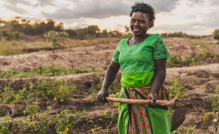 Kenyan farmer Faith Mulveli